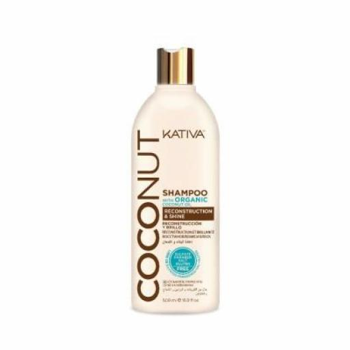 Champú Kativa Coconut 500 ml