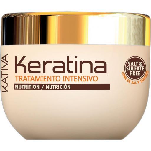 Mascarilla Kativa de Keratina - Tratamiento Intensivo 500 ml