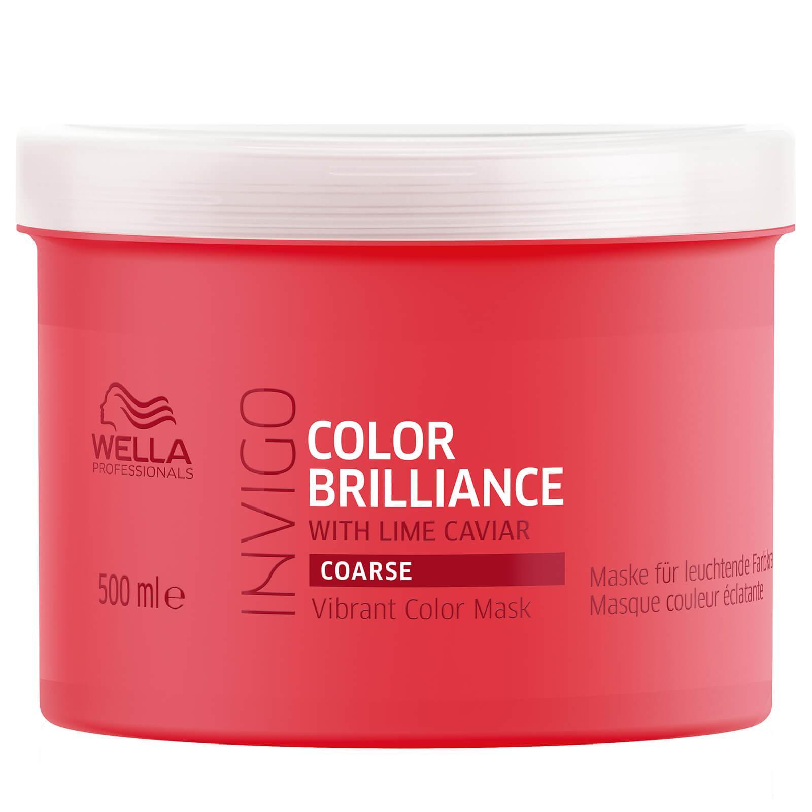 Mascarilla Wella Invigo Color Brilliance Cabellos Gruesos 500 ml