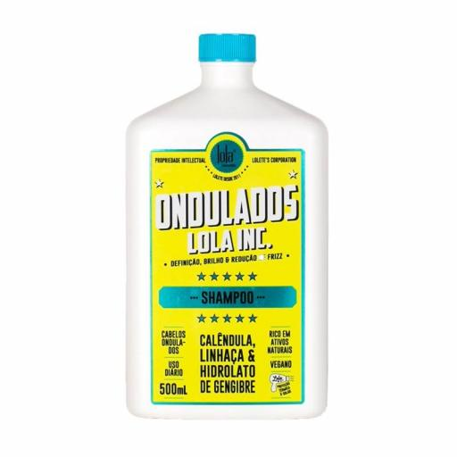 Ondulados lola inc. - shampoo 500ml