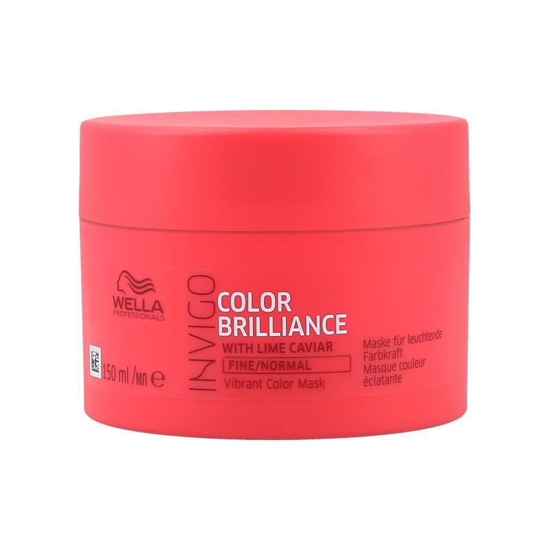 Mascarilla Wella Invigo Color Brilliance Cabellos Finos 150 ml