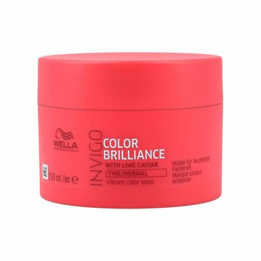 Mascarilla Wella Invigo Color Brilliance Cabellos Finos 150 ml [0]
