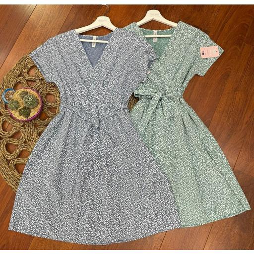 Vestido Mónaco en Azul  [1]