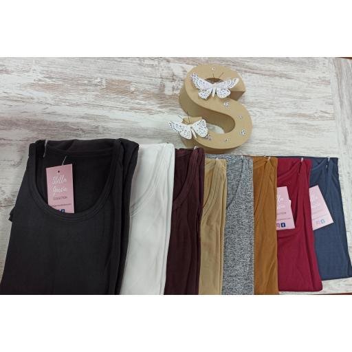 Camisetas Térmicas en 8 colores y tallas hasta XXL