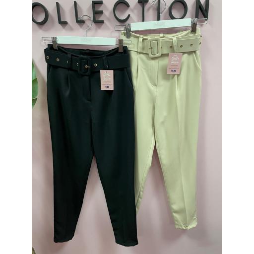 Pantalón en Negro y Beige de S a XL [1]