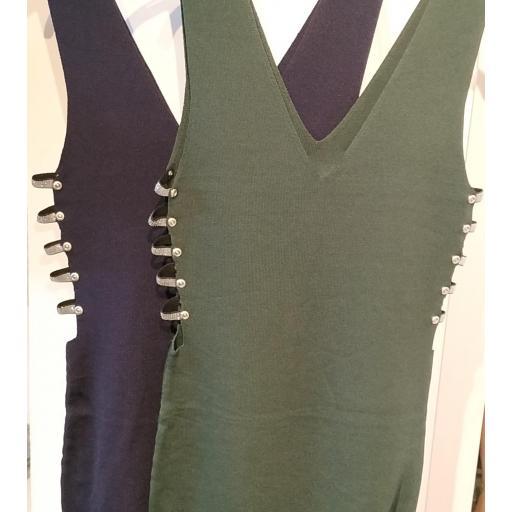 Vestido Lite en Verde y Azul [2]