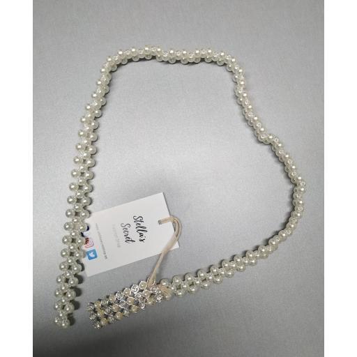 Cinturón Glam Perl