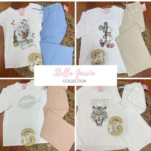 Caja 1 Dia de La Madre Conjunto Pantalón+Camiseta: 4 modelos a elegir [0]