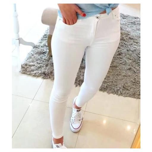 Jeans Blancos Push Up de XS a XL