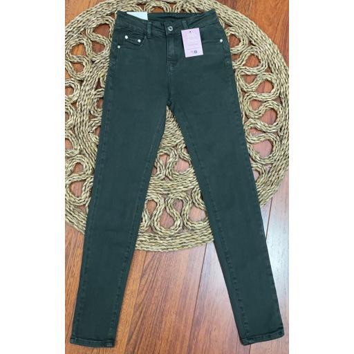 Jeans Verde Push Up de 38 a 36