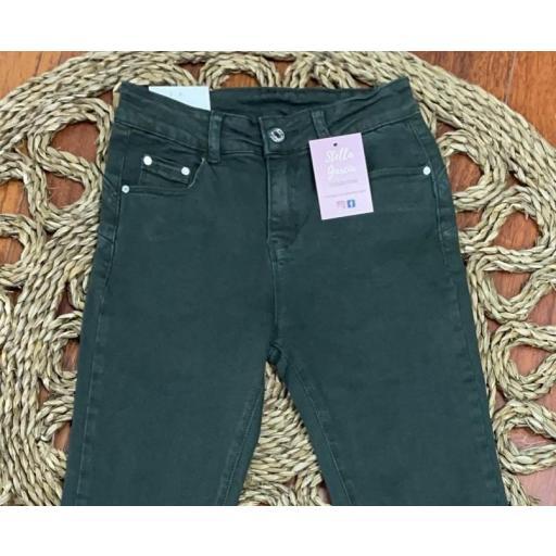 Jeans Verde Push Up de 38 a 36 [1]