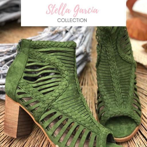 Sandalia Antelina Verde del 36 al 41