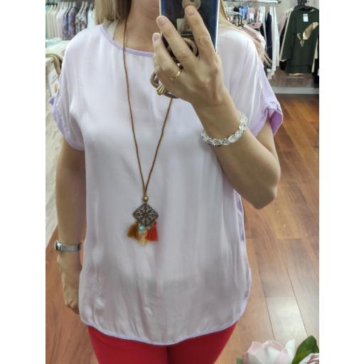 Camiseta Zenda en Blanco