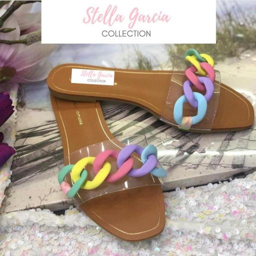 Sandalia Cadenas Colors del 37 al 41