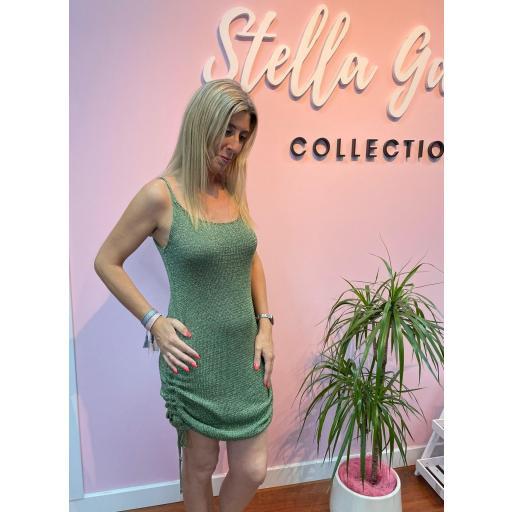 Vestido Glam en Verde