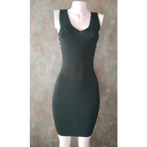 Vestido Lite en Verde y Azul [1]