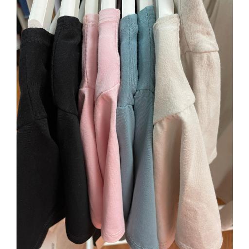 Camiseta Cala en Rosa y Beige [3]