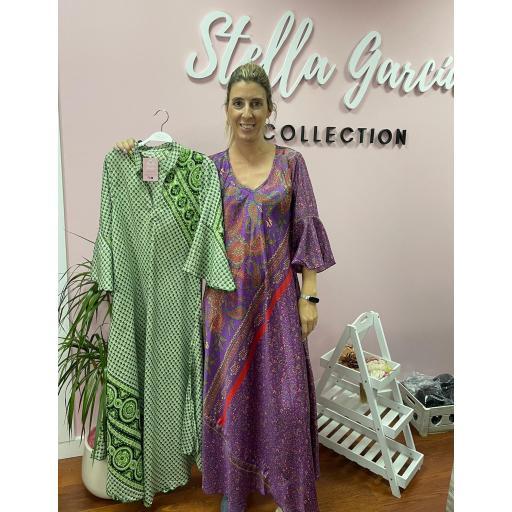 Vestido Marrakech en Morado  [1]