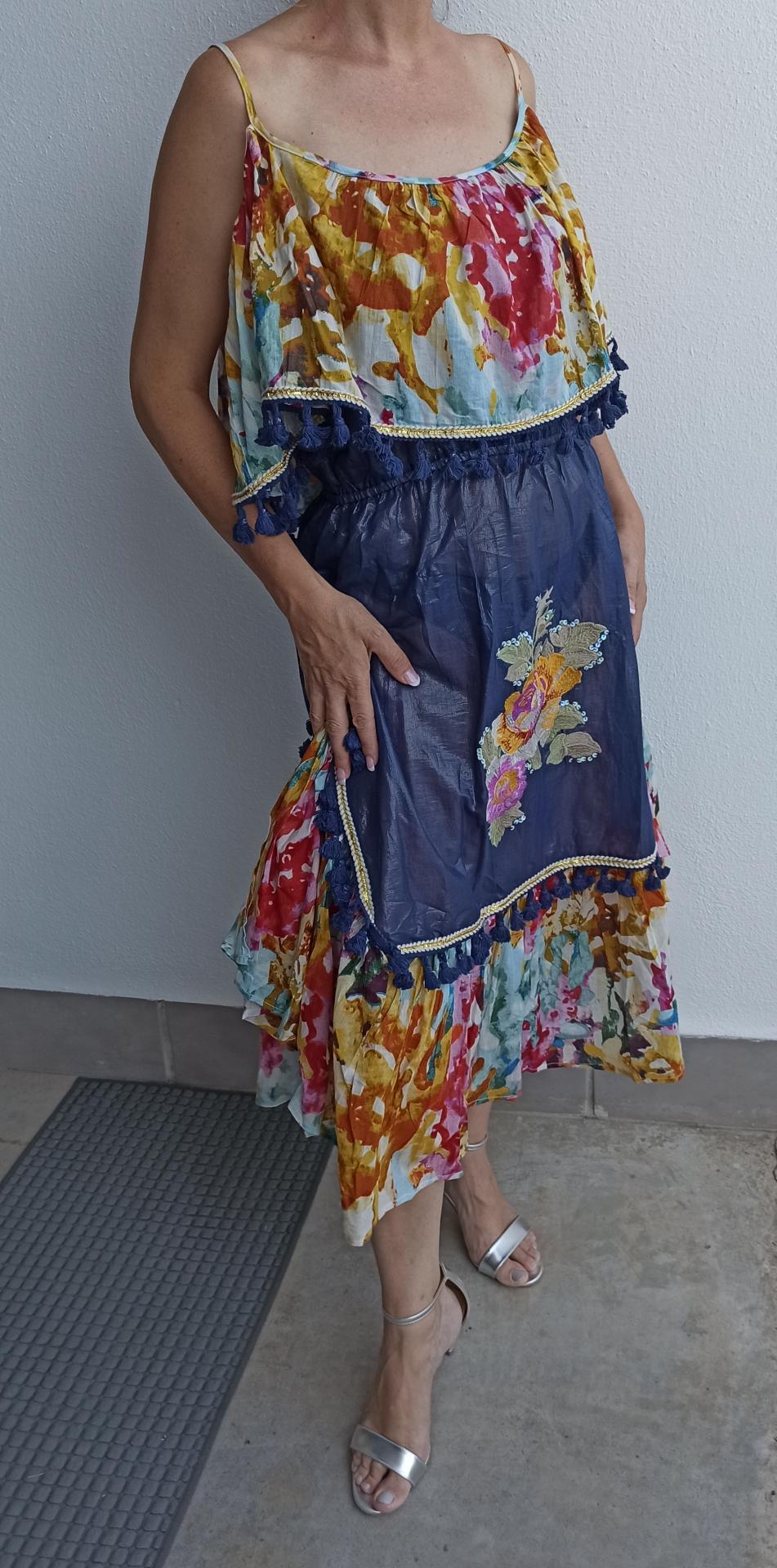Vestido India Bordado