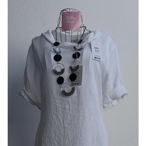 Collar Aros Negro/Transparente [1]