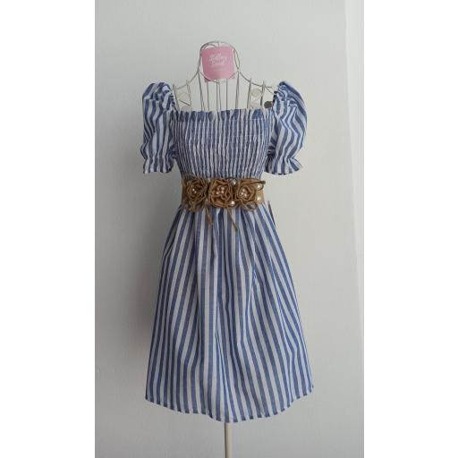 Vestido Manga Rayas [1]