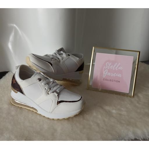 Zapatillas Blancas Louis Nº 41