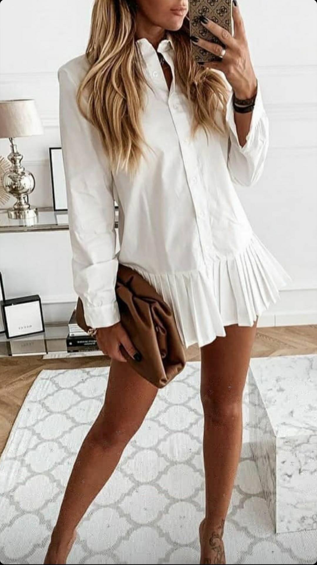 Camisa Naim Blanca
