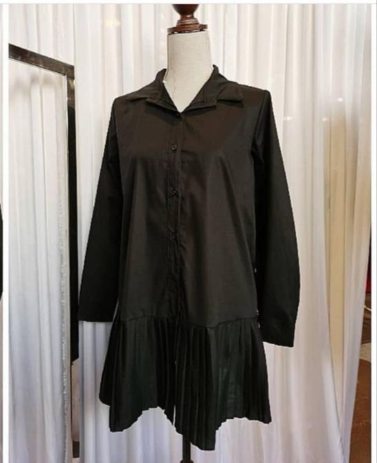Camisa Adria en Negro