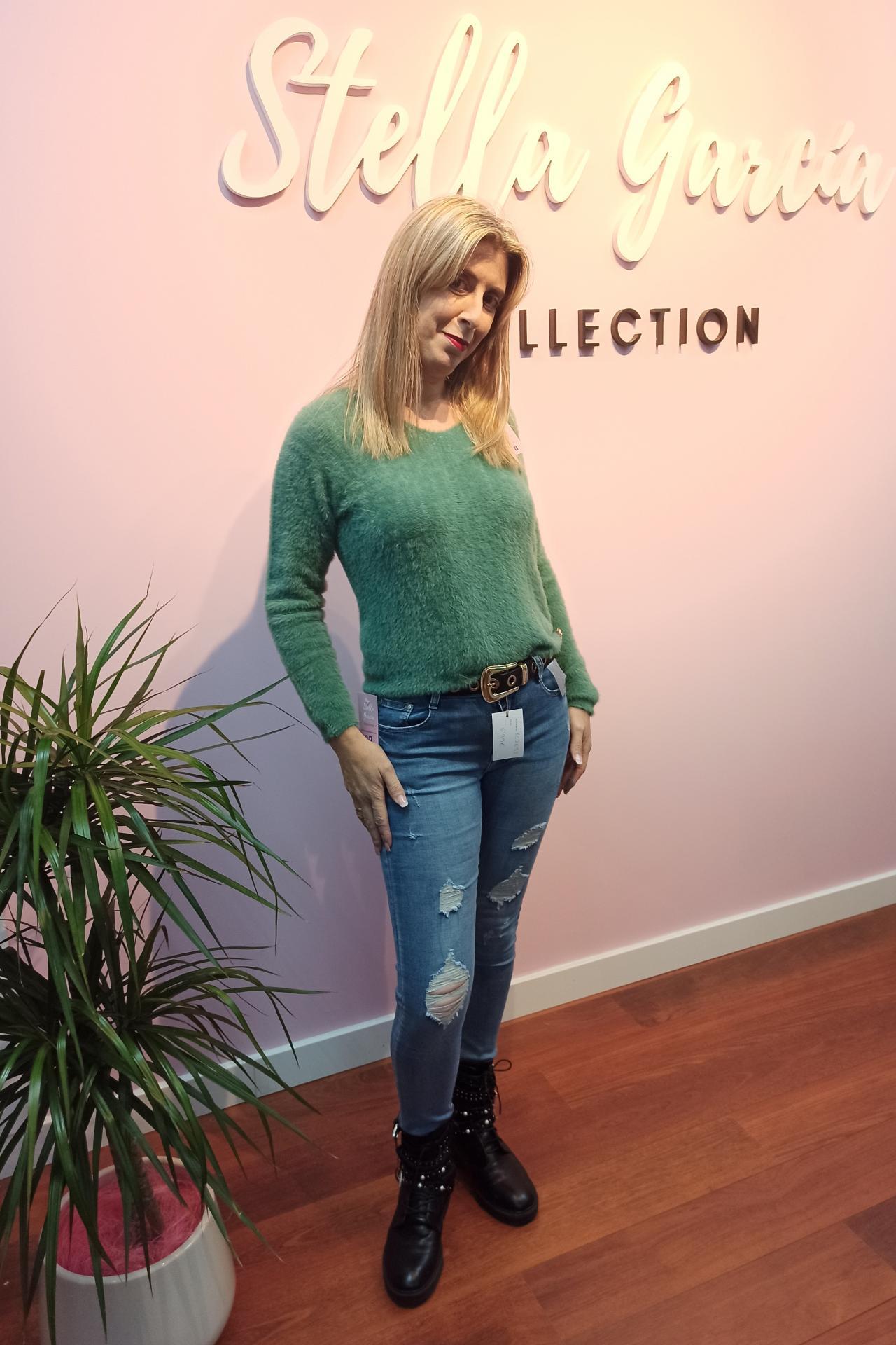 Jeans Olympia Push Up de M a XL