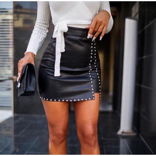 Falda Glory en Negro Talla L [0]