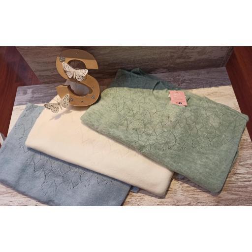 Jersey Calado en Crudo y Verde [1]