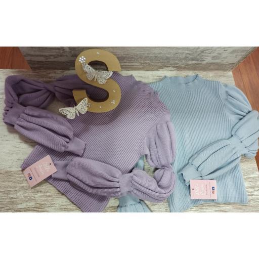 Jersey Gloves en Celeste [1]