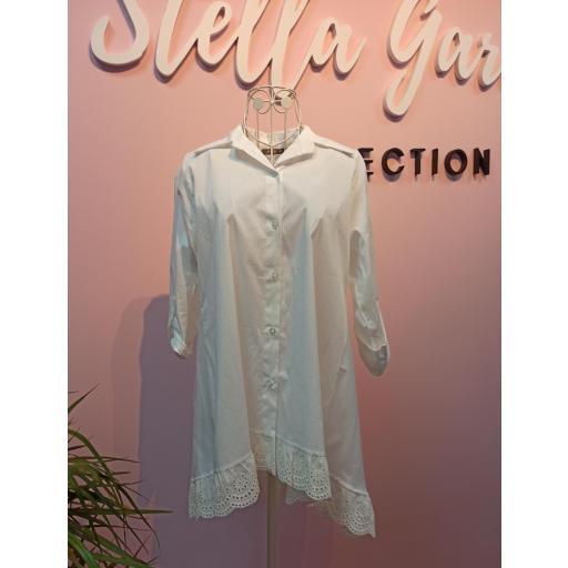 Camisa Puntilla Blanca [2]