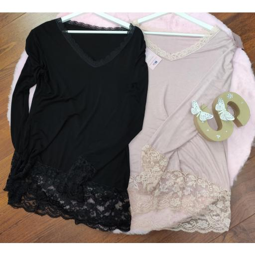 Camiseta Lencera en Rosa [2]