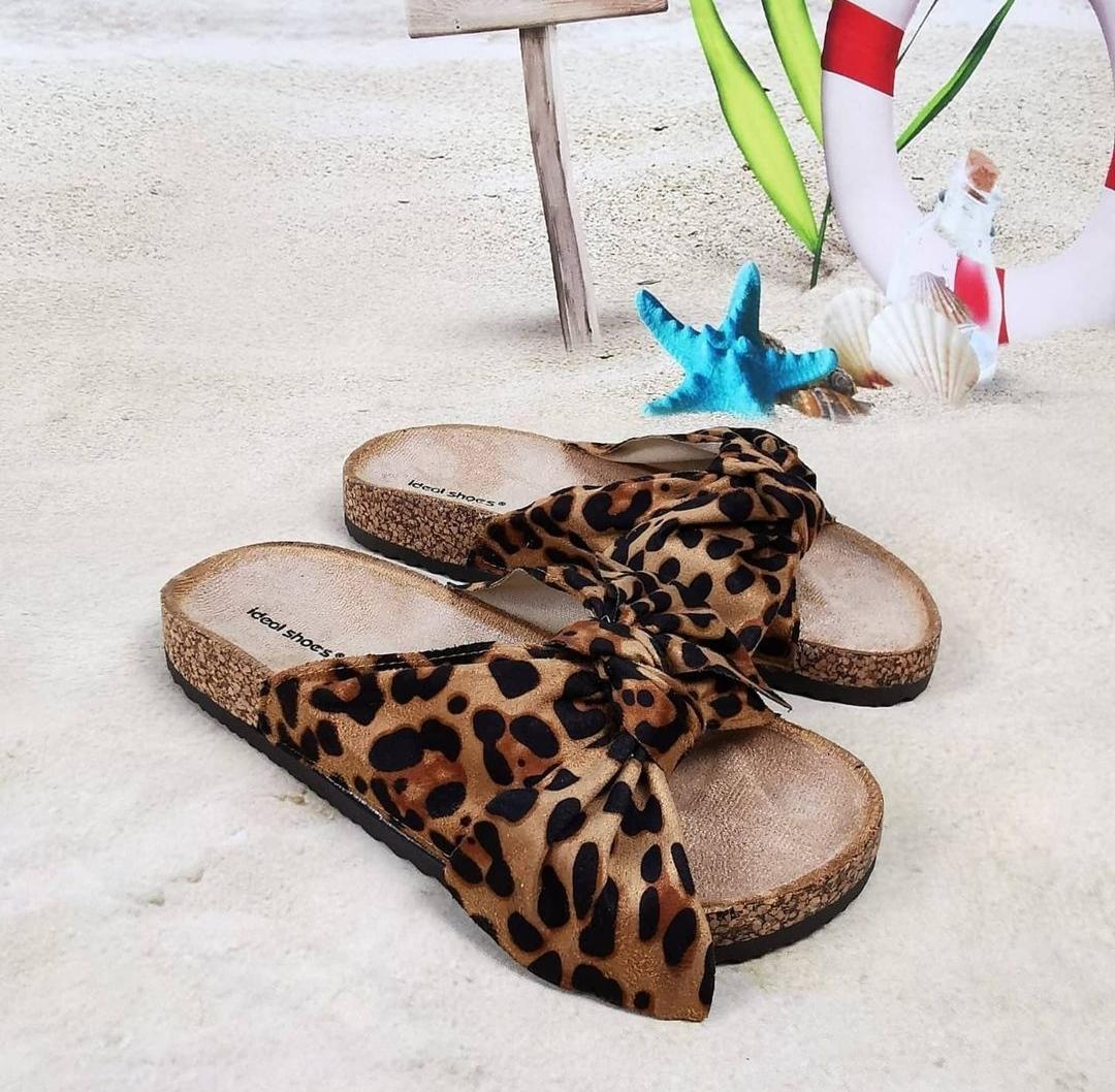 Sandalia Anatómica Leopardo del 36 al 40