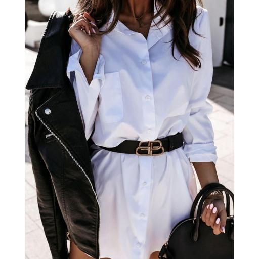 Maxi Camisa en Blanco y Negro [1]