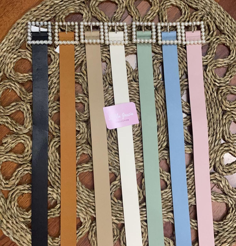 Cinturón Perlas en 7 Colores