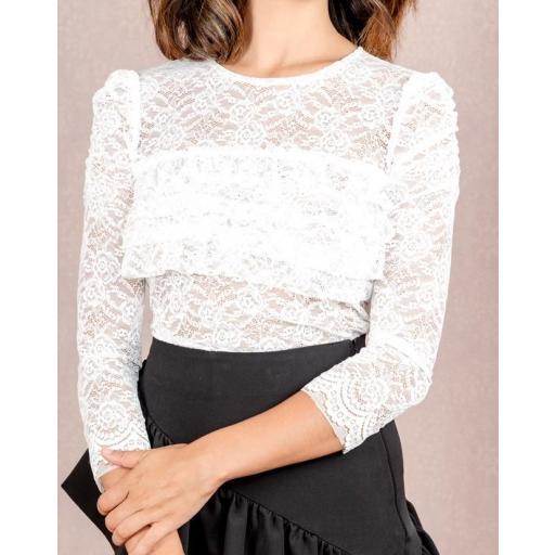 Camiseta Phoenix en Blanco Talla XL