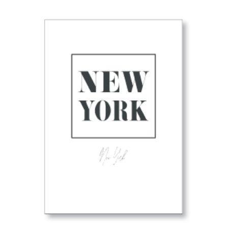 Cuadro NEW YORK BLANCO