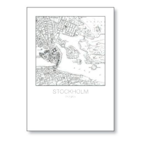 Cuadro STOCKHOLM MAP