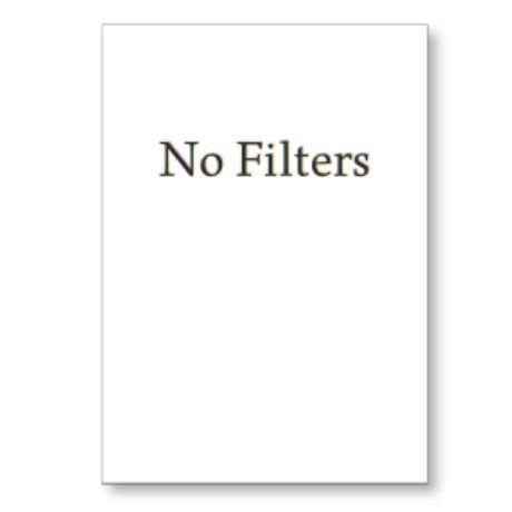 Cuadro NO FILTERS