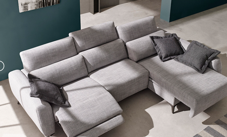 Sofá gris 3 plazas