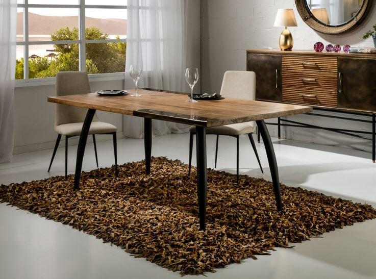 Mesa de diseño de madera para comedor