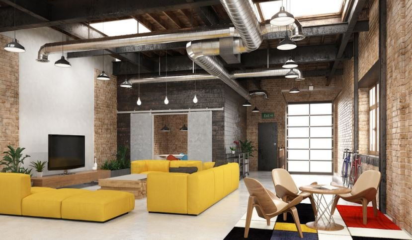 salón industrial