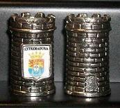 DEDAL TORREÓN ESCUDO EXTREMADURA RF. 0120