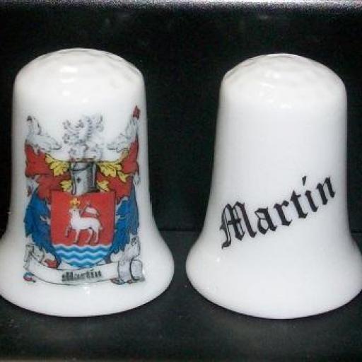 DEDAL HERÁLDICO MARTÍN RF. 03081