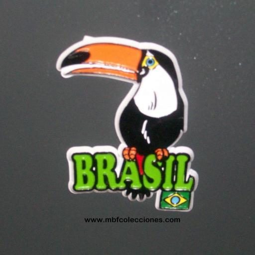 IMÁN BRASIL GOMA RF. 03014