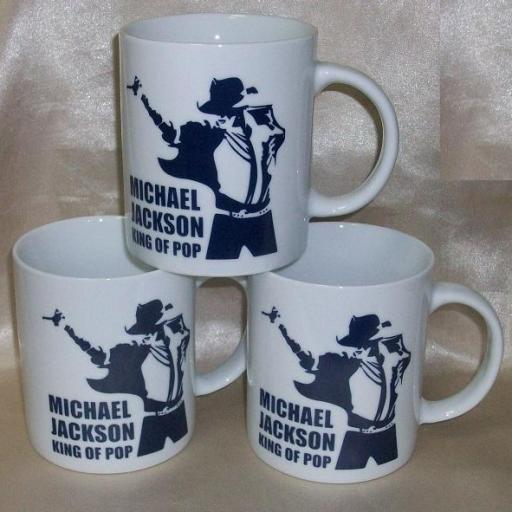 TAZA MICHAEL JACKSON KING OF POP