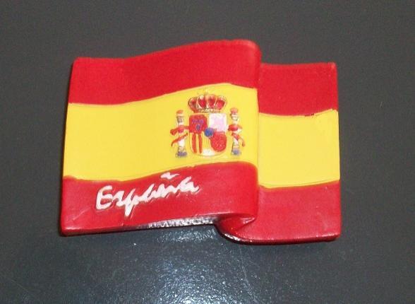 IMÁN BANDERA DE ESPAÑA RF. 0334