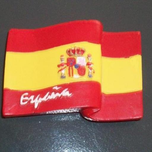 IMÁN BANDERA DE ESPAÑA RF. 0334 [0]